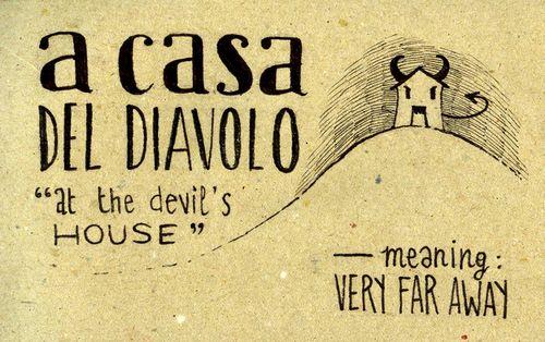 Learning Italian Language ~ A casa del diavolo (at the devil's house) IFHN