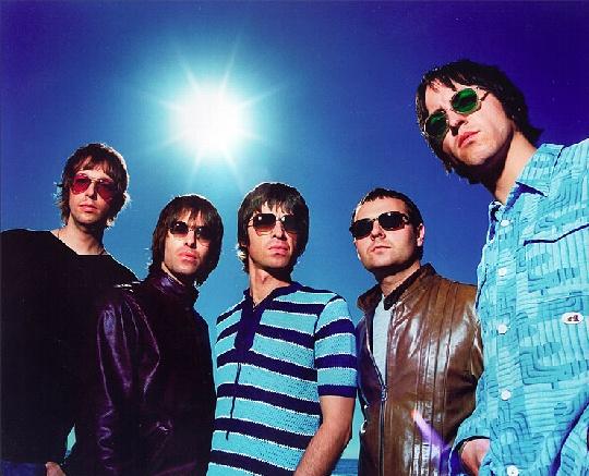 Oasis. Wonderwall. Champagne Supernova. Don't Look Back In Anger.