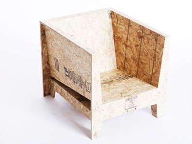 Low cost chair by Chris Rucker.
