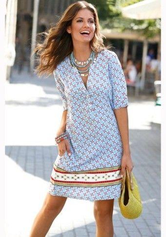 Šaty s potiskem #modino_cz #modino_style #dress #casual #fashion #style #outfit
