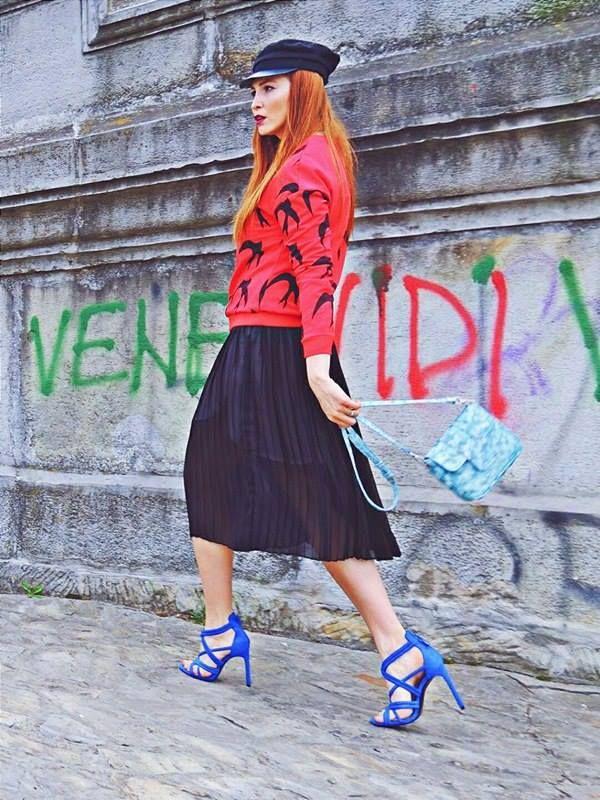 #RENA #inspiration from #Sabrina #bag  Style: Daniela Macsim