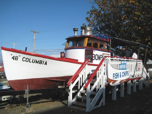 The Bowpicker in Astoria. The best Fish & Chips! www.oregonbeachvacations.com