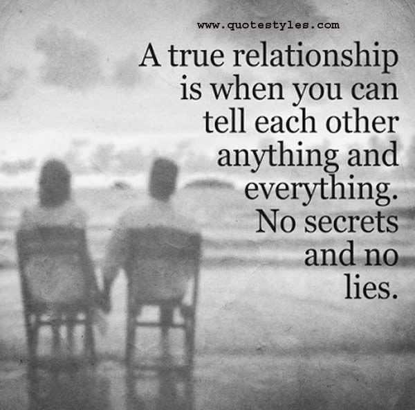 No secrets and no lies best online quotes