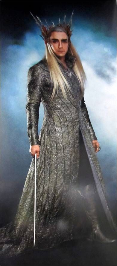 Thranduil! No Gilgalad, but I'll take all the Elven kings I can.
