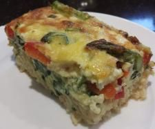 Recipe Rice & Veggie Quiche by Carola Cocacola - Recipe of category Pasta & rice dishes