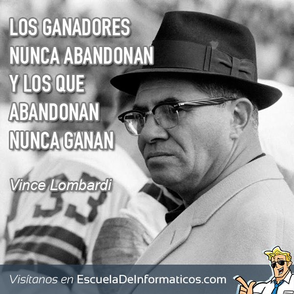 Vince Lombardi Quote: 69 Best Frases Inspiradoras Images On Pinterest