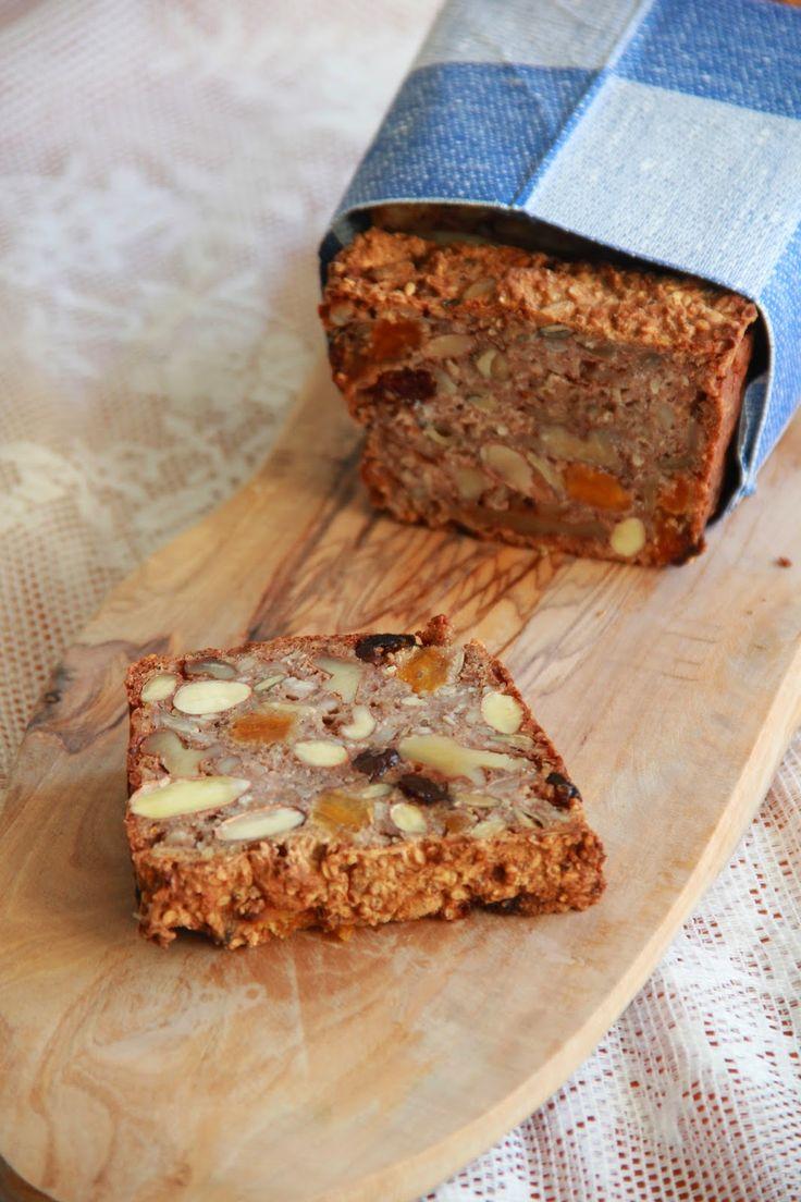 De smaak van Cécile: Glutenvrij noten- en zadenbrood