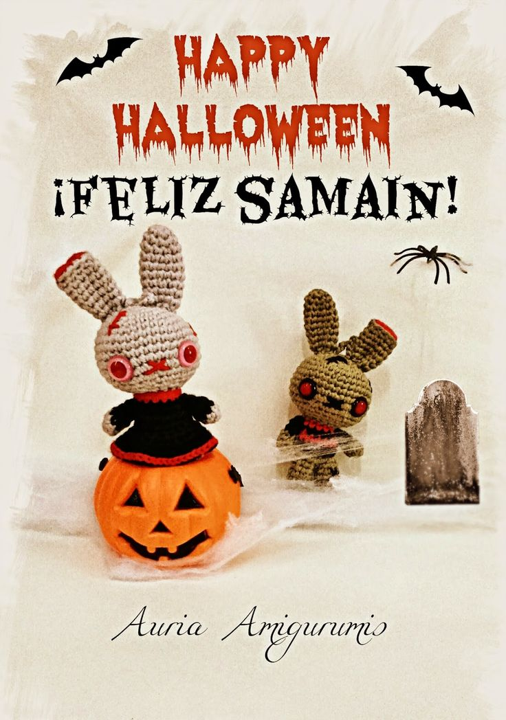 Feliz Halloween!!! ( Y Patrón zombi )