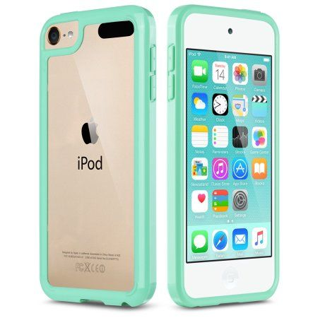 iPod Touch 6 Case,iPod Touch 5 Case,ULAK [CLEAR SLIM] Hybrid Premium Clear Bumper TPU/Scratch Resistant Hard PC Back Cover/Corner Shock Absorption Case for Apple iPod Touch 5 6th Gen
