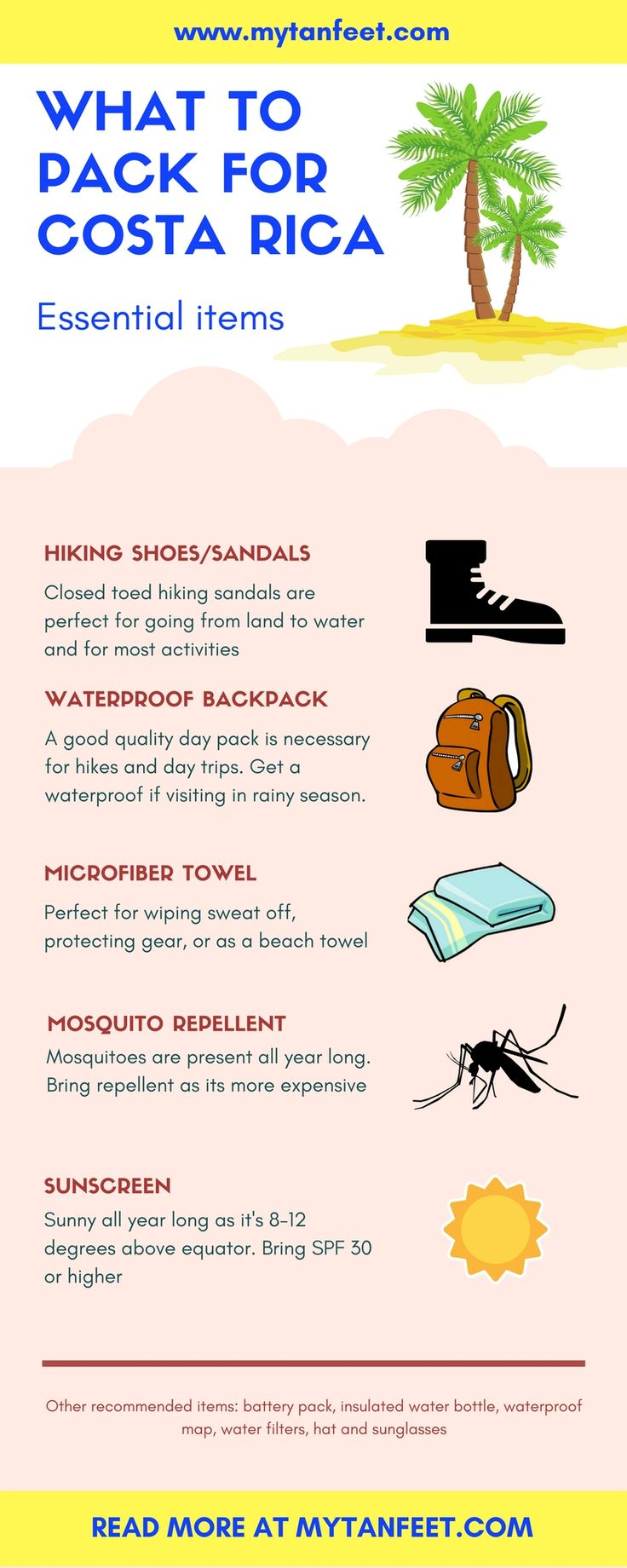 how to bring items when moving to costa rica