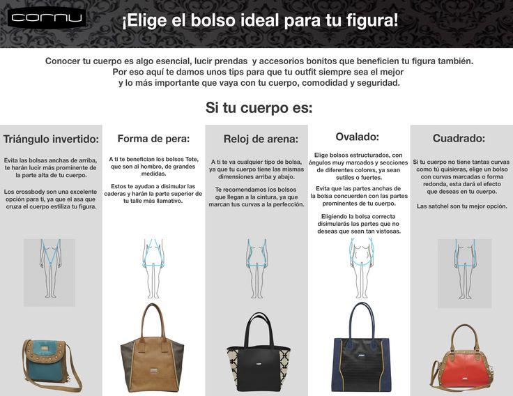 Tu bolsa ideal según tu tipo de cuerpo #bolsascornu