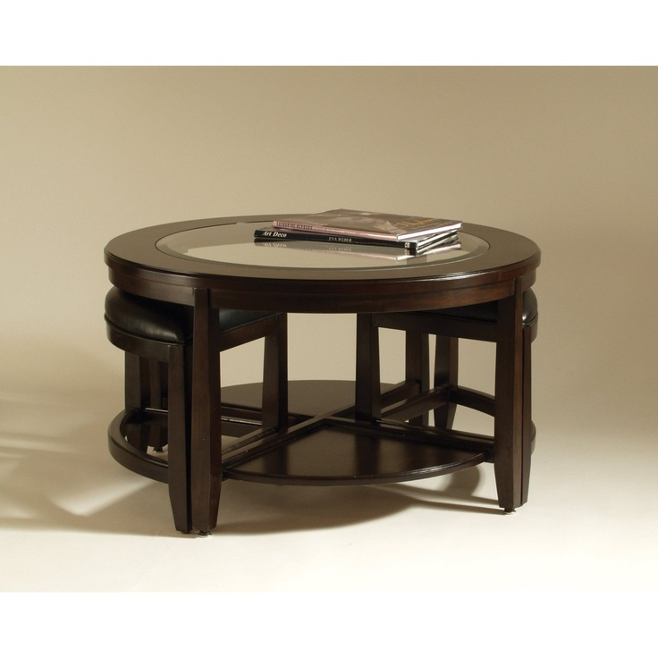 Coffee Table W/2 Pull Out Seats. Seems Like I Can Never Have