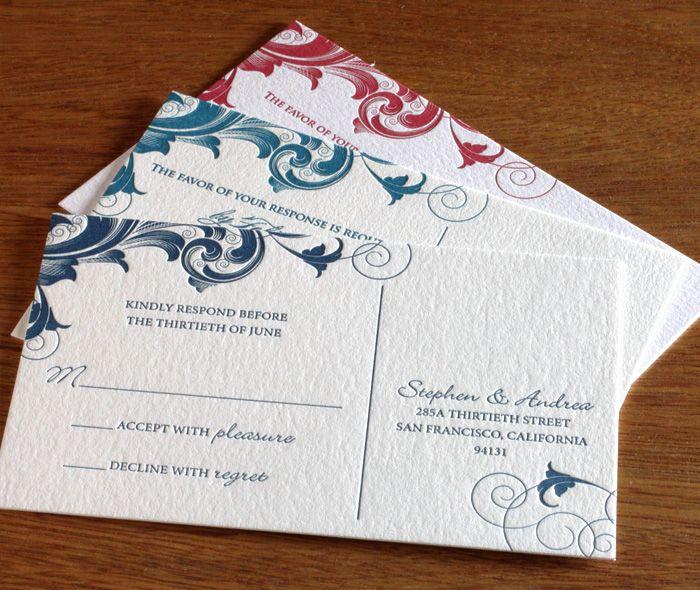 The  Best Floral Letterpress Wedding Envelope Ideas Ideas On