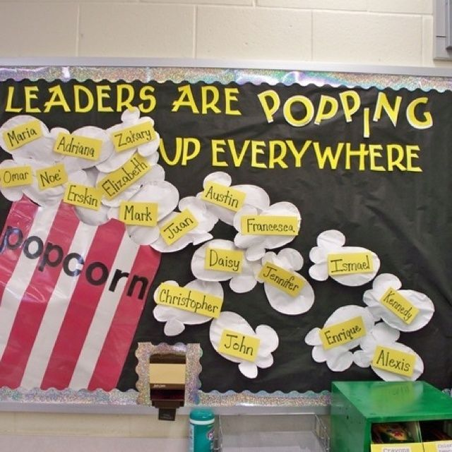 Decorating Bulletin Boards Is Very Fun For The Teacher To Do, And For The  Students To See Their Name Underneath The Word Leader Would Drive Them To  Succeed ...
