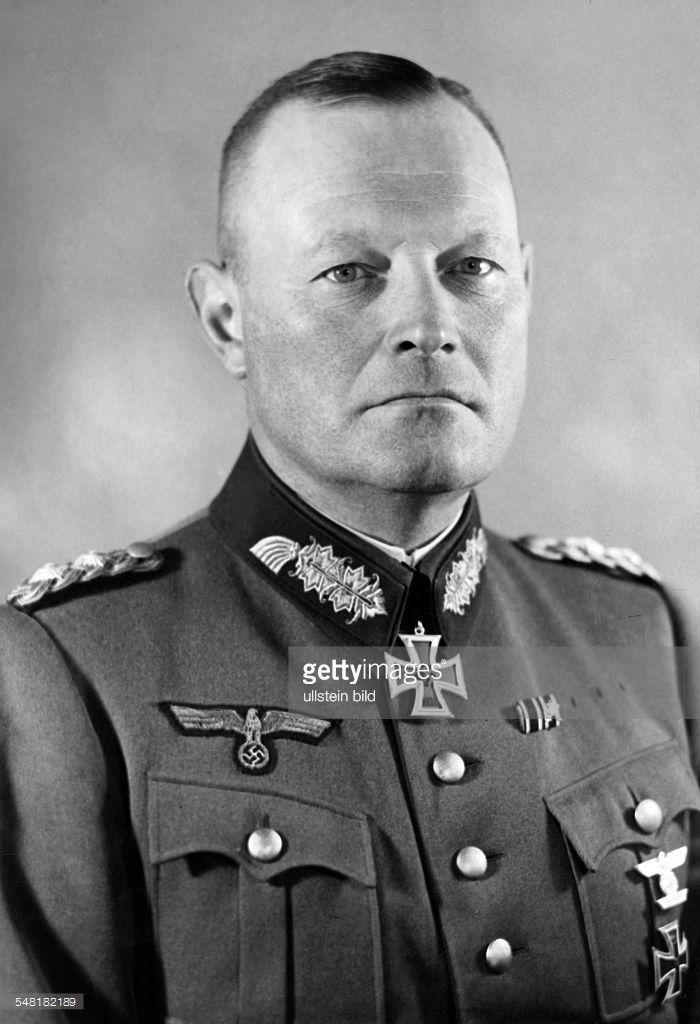 ■ Erich Hoepner (14 September 1886 - 8 August 1944) - Generaloberst