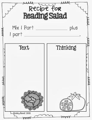 Tanny McGregor's Reading Salad...LOVE her book and her concrete launching lessons!