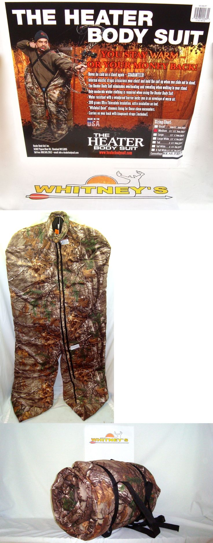 Other Hunting Clothing and Accs 159036: The Heater Body Suit -Medium- Realtree Camo-500-Rt BUY IT NOW ONLY: $359.95