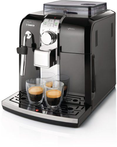 SALE Philips Saeco HD8833/47 Syntia Automatic Espresso Machine, Black