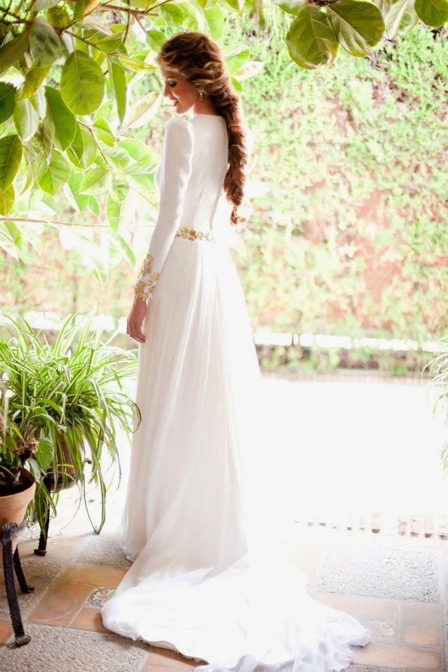 QUIERO UNA BODA PERFECTA: Manga larga para novias