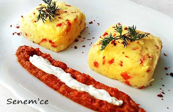 Kırmızı Köz Biberli Patates Püresi Tarifi