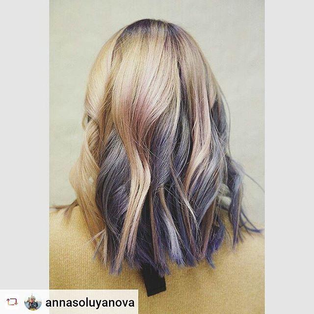 """#Rensta #Repost: @annasoluyanova via @renstapp ···  """" Цветной марафон в """"Амстердаме"""" продолжается 😜 🙃 💇   #iamsterdamspb #hairstyle #violet #haircolor #hair #saintpetersburg #style #art #girls #friends #салонкрасотыспб #парикмахер #парикмахерская #стилист #розовыеволосы #окрашиваниеволос #цветныеволосы #укладкаволос #красота #чернышевская #петербург #фиолетовыеволосы #парикмахерская #фото #фотосессия #фотограф #фотографспб"""