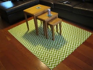 How to make a rug...