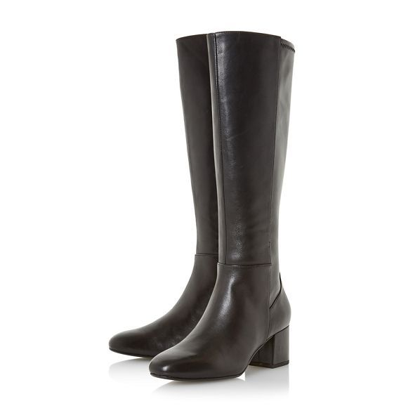 Knee high boots, Black boots