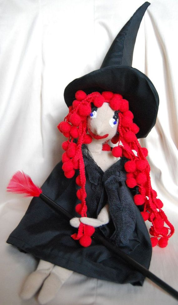 RagWitch with red hair  from Middle ages by Rongylady on Etsy