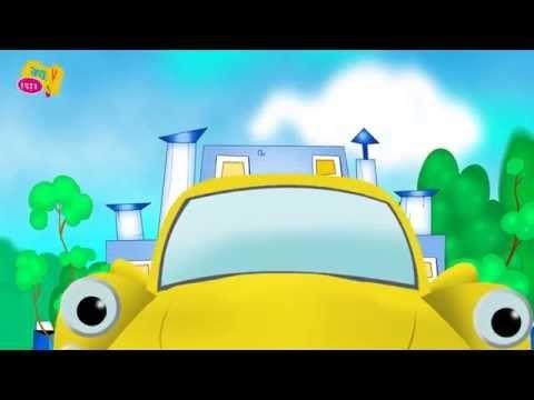 Kolory i liczby. Bajki dla dzieci po polsku o samochodach. Zajęcia rozwijające w języku polskim - YouTube