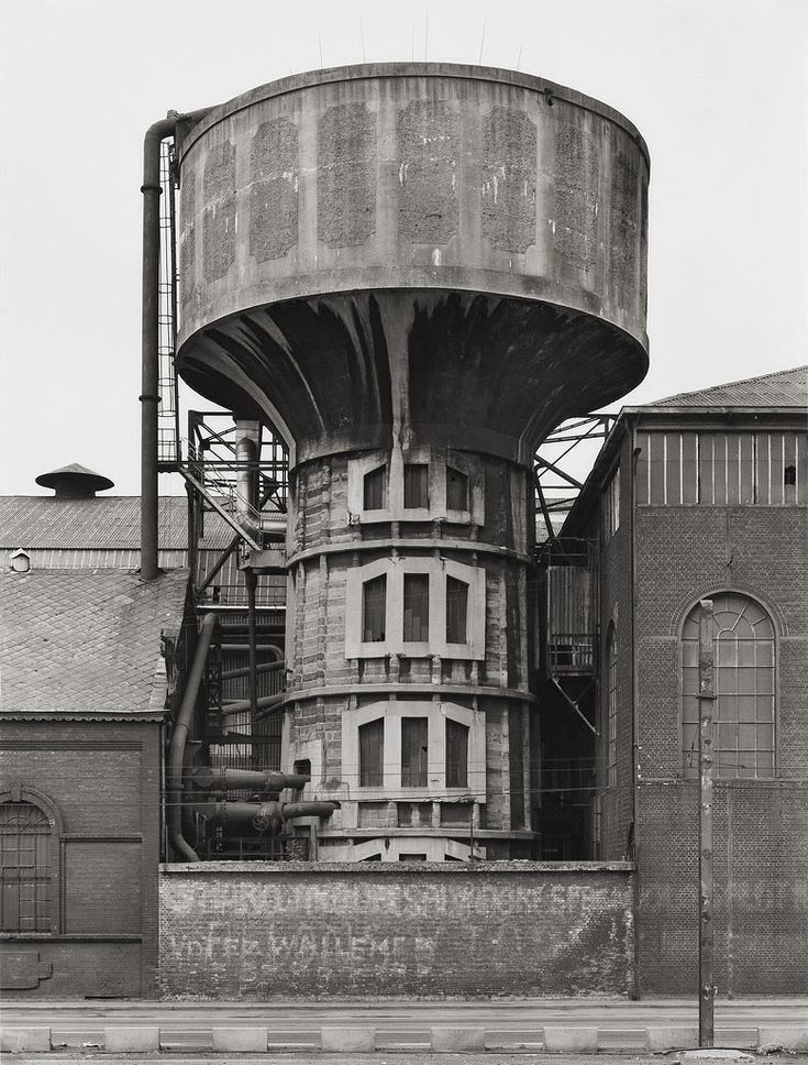 Bernd and Hilla Becher, Untitled (Watertower), 1983.