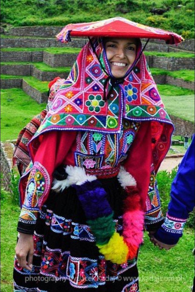 Peruvian woman.