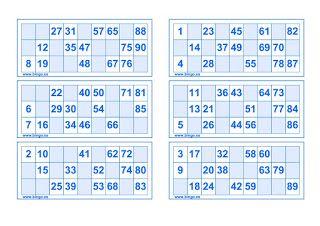Hacer clic sobre la imagen para descargar el pdf.     Bingo de sumas y restas…