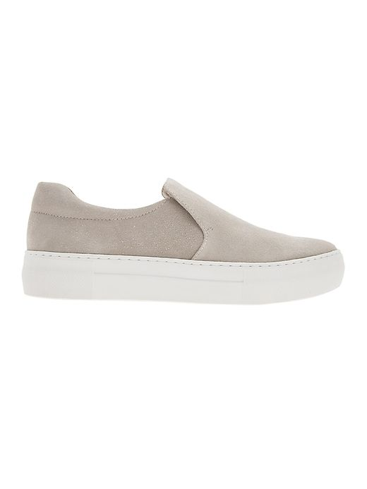 f12fb1832c1cf Attire Suede Sneaker by J/Slides® | Shoes | Suede sneakers, Sneakers ...