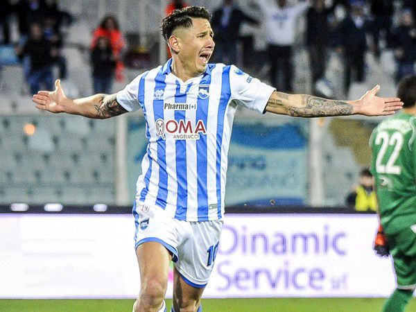 YouTube: Gianluca Lapadula anotó un golazo con el Pescara ante el Bari