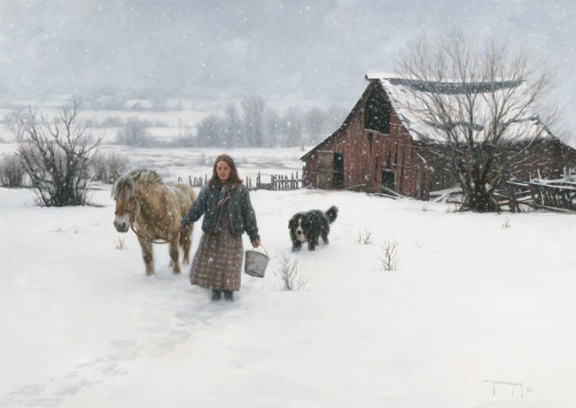 """""""December Snows"""" by Robert Duncan"""