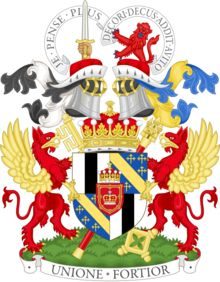 Coat of arms of the Earl of Mar and Kellie, premier viscount of Scotland.png