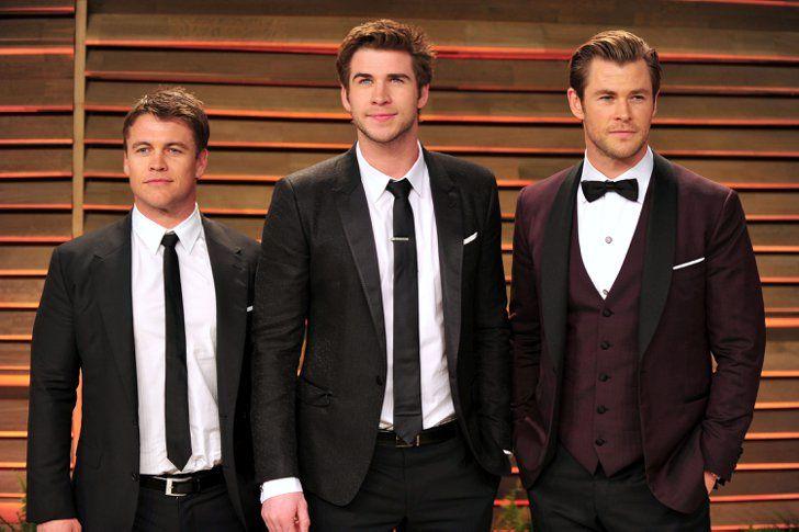 Pin for Later: Vous Ne Saviez Probablement Pas Que Ces Célébrités Ont Des Frères et Soeurs Chris, Liam, et Luke Hemsworth