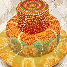aboriginal dreamtime cake - Google Search