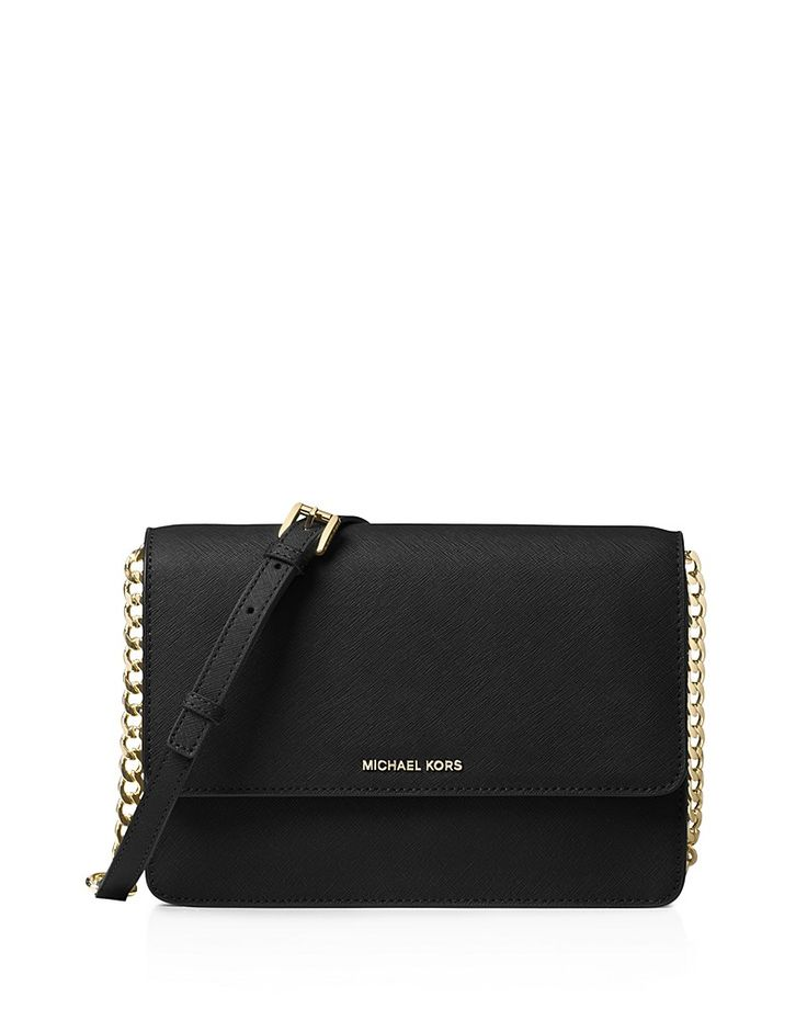 Daniela Large Leather Crossbody by Michael Kors