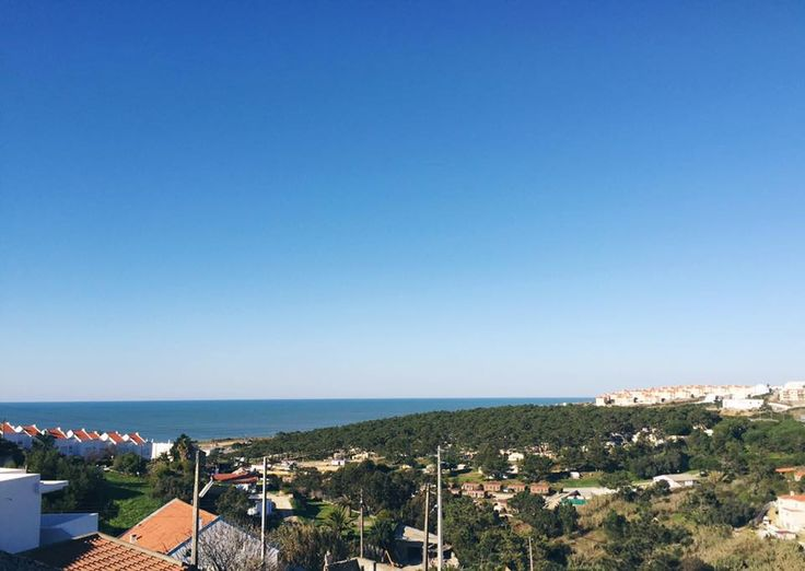 This is what january in Ericeira looks like from one of our rooms with balcony at Olá Onda