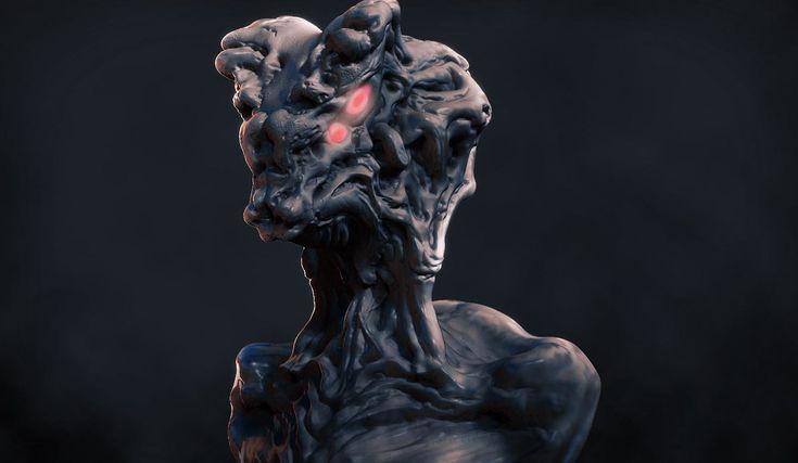 Alien concept, Francesco Paletta on ArtStation at https://www.artstation.com/artwork/alien-concept-ce34d420-69d4-410c-8968-3c1f6ec28210