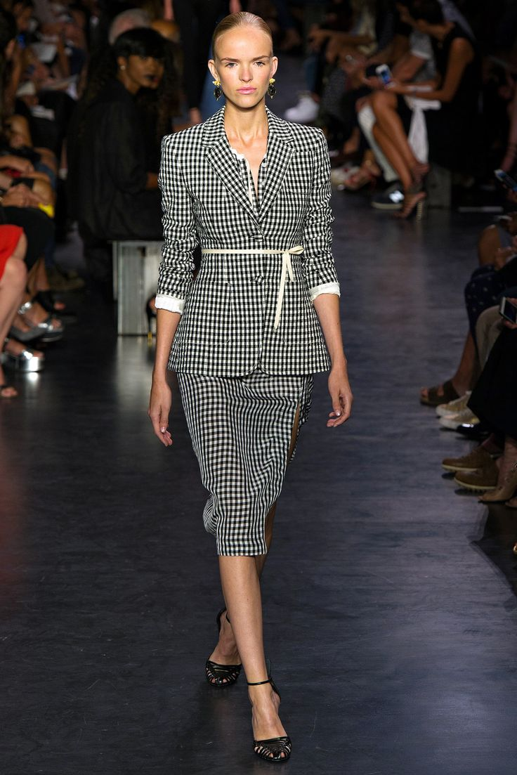 Altuzarra Spring 2015 Ready-to-Wear Fashion Show - Sigrid Cold
