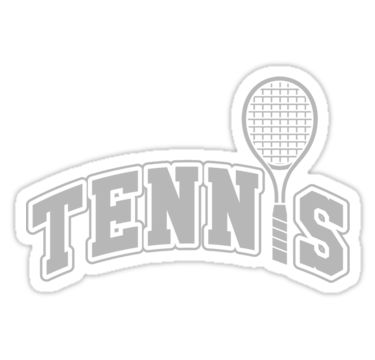 Tennis – Get your funny tennis shirt! / See all of my tennis designs: http://www.redbubble.com/people/nektarinchen/portfolio/tennis • Also buy this artwork on stickers, apparel, phone cases, and more.