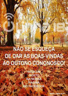 Linha 18: Não se esqueça de dar as boas-vindas ao Outono!