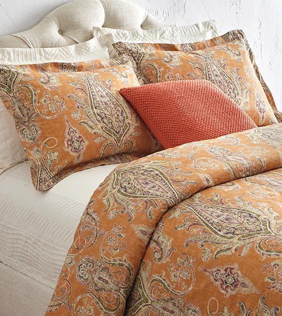 Karani Bedding Collection - Cotton Bedding - Cotton Duvet - Cotton Shams - Damask Bedding | HomeDecorators.com