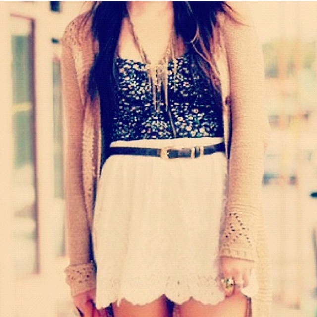 Fashion, Summer Outfit, Skirts, Style, Clothing, Dresses, Cute Outfit, Lace Skirt, Dreams Closets