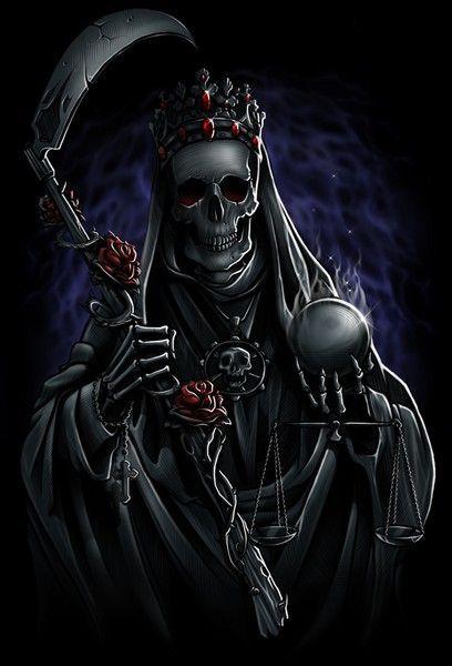 SANTA MUERTE by Adrian Balderrama