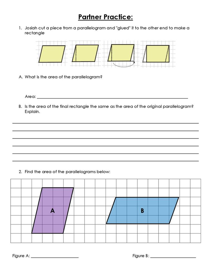 Intro to New Material.pdf Maths area, Parallelogram area