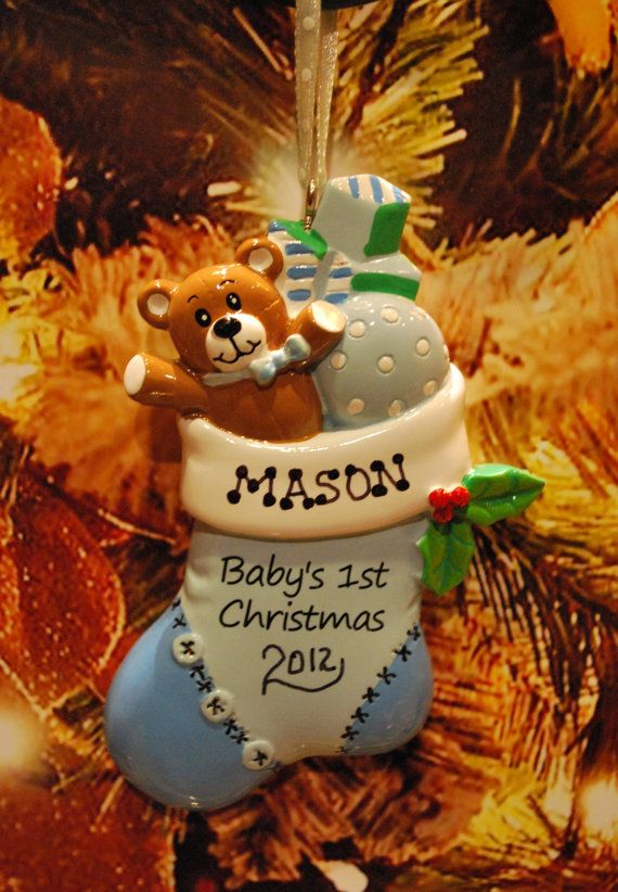 The 25+ best Baby's first christmas stocking ideas on Pinterest ...