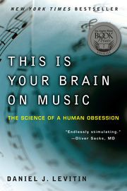 This Is Your Brain on Music | http://paperloveanddreams.com/book/361930737/this-is-your-brain-on-music | What can music teach us about the brain? What can the brain teach us about music? And what can both teach us about ourselves?In this groundbreaking union of art and science, rocker-turned-neuroscientist Daniel J. Levitin (The World in Six Songs and The Organized Mind) explores the connection between music - its performance, its composition, how we listen to it, why we enjoy it - and the…